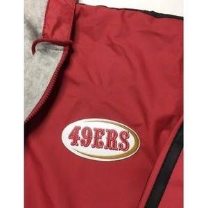 RARE VTG San Francisco 49ers NFL Game Day Jacket